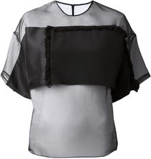 3.1 Phillip Lim Sheer Blouse - Lyst