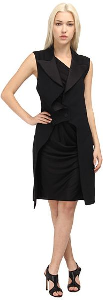McQ by Alexander McQueen Mix Dress - Lyst