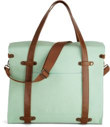 ModCloth Camp Director Tote in Mint - Lyst