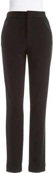 Catherine Malandrino Slim Fit Ponte Pants - Lyst