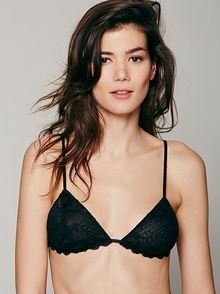 Free People Essential Triangle Bra - Lyst
