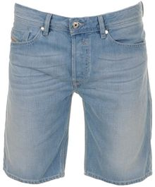 Diesel Waikee Denim Shorts - Lyst