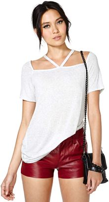 Nasty Gal Missing Link Tee - Lyst