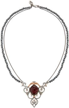 Stephen Webster Filigree Shark Jaw Pendant Necklace - Lyst