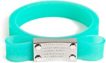 Marc By Marc Jacobs Jelly Bow Bangle in Aqua Lagoon - Lyst