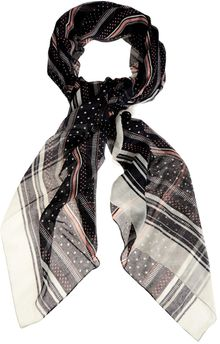 Oasis Nautical Spot Scarf - Lyst