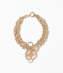 Zara Gold Chain Necklace - Lyst