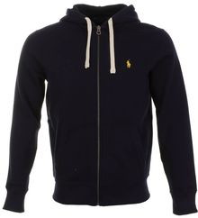 Ralph Lauren Hooded Athletic Fleece Jumper - Lyst