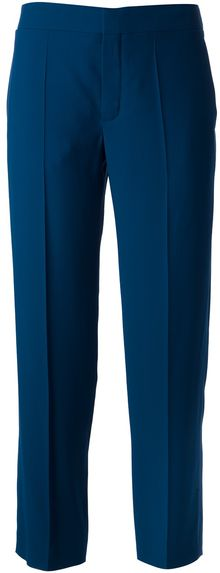Chloé Straight Leg Trousers - Lyst
