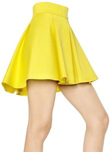 Fausto Puglisi Heavy Stretch Cotton Skirt - Lyst