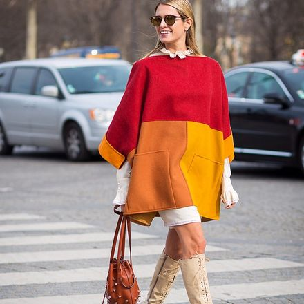 The 10: Knit Ponchos (Because It's Still Pretty Cold)