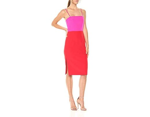 57a36dc6c MILLY Italian Cady Pencil Dress in Red - Save 40% - Lyst