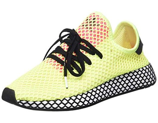db8b9460b adidas  s Deerupt Runner Gymnastics Shoes in Yellow for Men - Lyst
