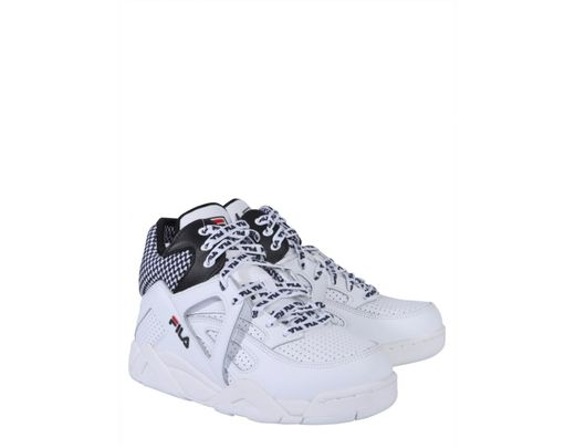 Lyst - Fila Cage Cb Mid Sneakers in White