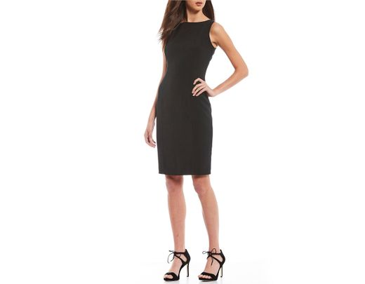 f2642220977 Lyst - Antonio Melani Cynthia Sleeveless Sheath Dress in Black