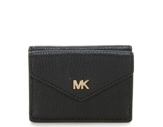 fd704a646f73 MICHAEL Michael Kors Small Trifold Flap Wallet in Black - Lyst