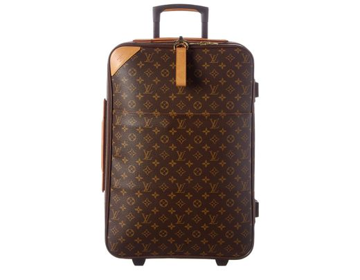 6859bc622 Louis Vuitton Monogram Canvas Pegase 60 in Brown - Lyst
