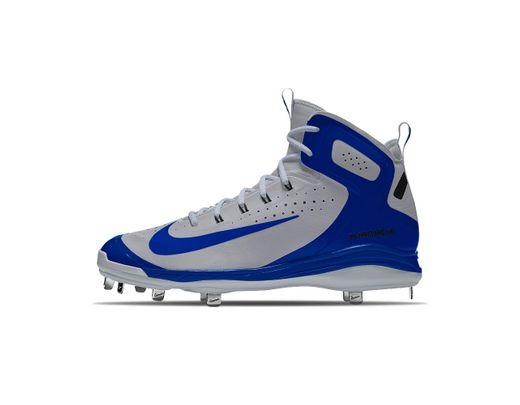 ec068e834 Lyst - Nike Alpha Huarache Elite Mid Metal Id Men s Baseball Cleats ...