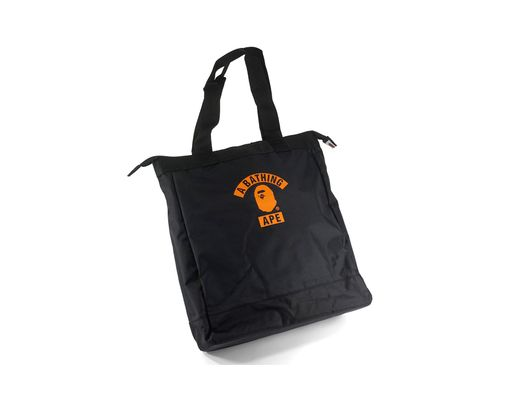f66f7f52e8a5 Long-Touch to Zoom. A Bathing Ape - Summer Bag Block Print Logo Tote ...