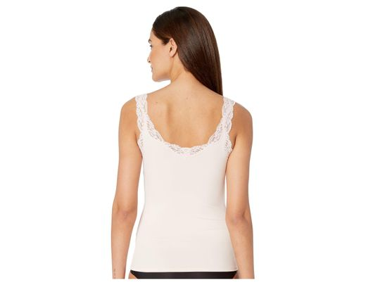 4c0bfbf6978 Only Hearts Delicious With Lace Deep V Tank Top (black) Women s Underwear  in White - Lyst