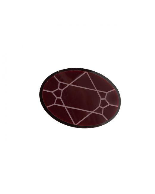 Yazbukey | Purple Jewellery Diamonds Brooch Burgundy | Lyst