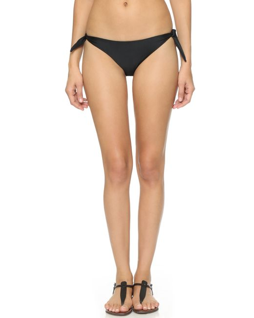 Mikoh Swimwear | Black Valencia Bikini Bottoms | Lyst