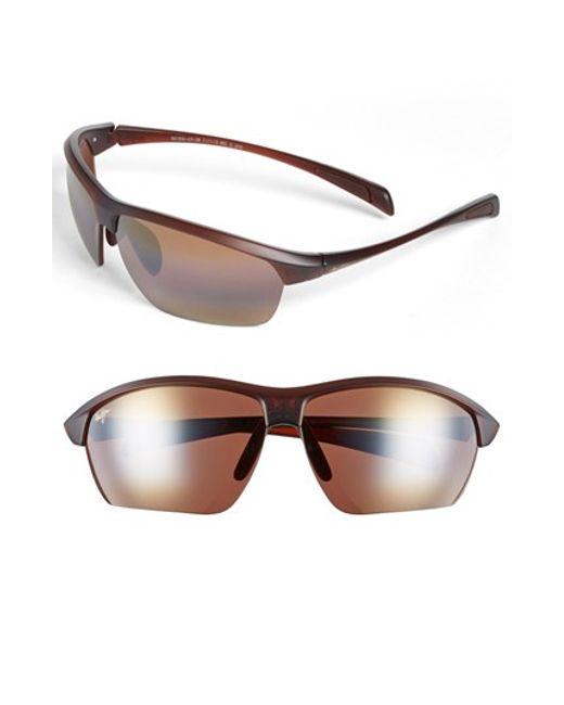 Maui Jim   Red 'stone Crushers - Polarizedplus2' 71mm Sunglasses for Men   Lyst