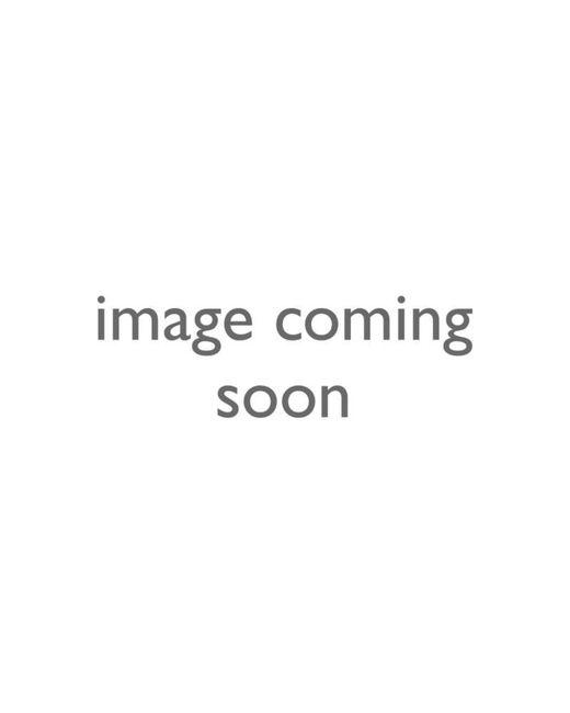 Karen Millen | Metallic Encrusted Bar & Hoop Necklace | Lyst