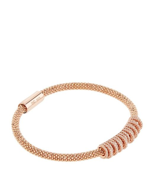 Links of London | Pink Star Dust Crown Bracelet | Lyst