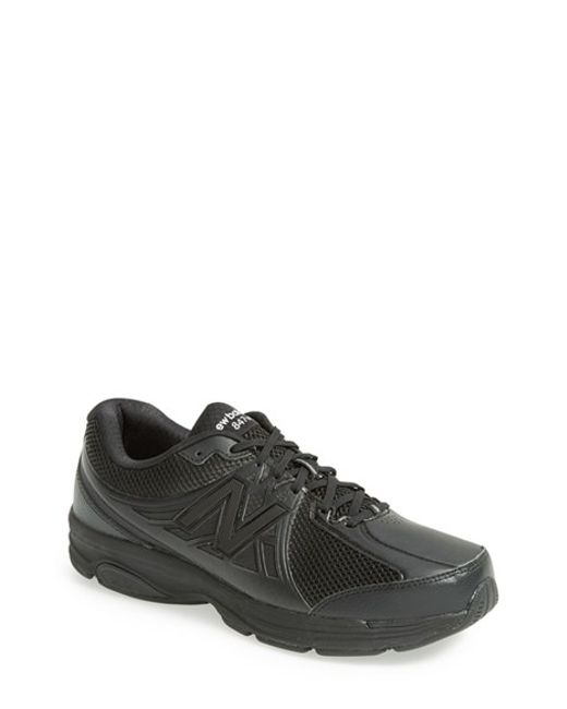 New Balance | M574 Men Round Toe Suede Black Sneakers for Men | Lyst