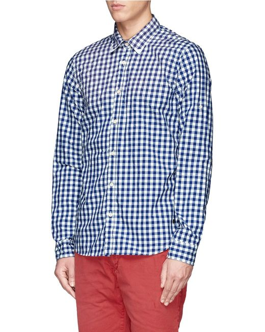 Scotch & Soda | White Dot Print Short Sleeve Shirt for Men | Lyst