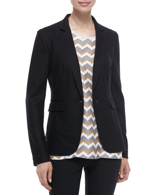 Rag & Bone | Black Long-sleeve Wool Club Jacket | Lyst