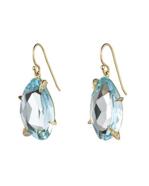 Alexis Bittar | Blue Royal Marquis Fancy Cut Drop Earring In 18k Gold You Might Also Like | Lyst