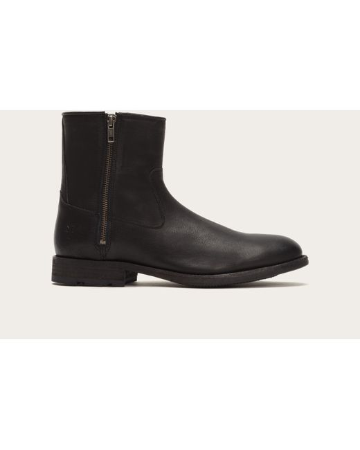Frye | Black Ethan Double Zip for Men | Lyst