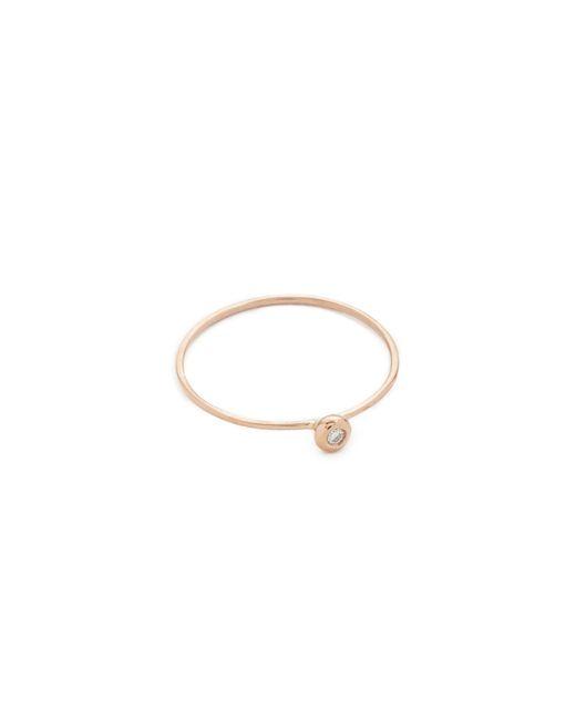 Blanca Monros Gomez | Pink White Diamond Seed Ring | Lyst