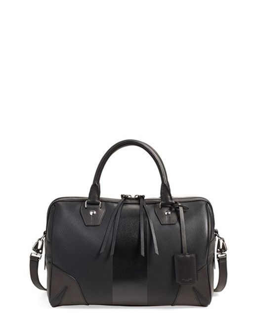 Rag & Bone | Black Flight Leather Tote | Lyst