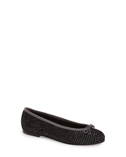 French Sole | Metallic Overt Sparkle Ballet Flats | Lyst