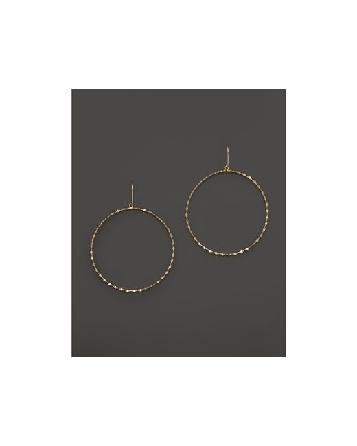 Lana Jewelry | Metallic 14k Yellow Gold Large Blake Bangle Hoop Earrings | Lyst