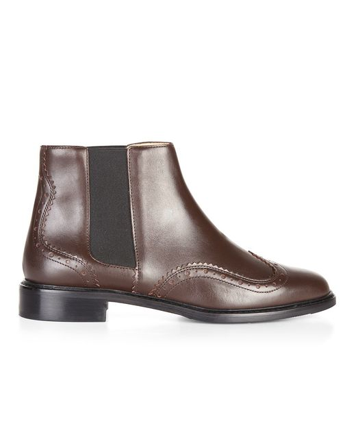 Hobbs | Brown Ollie Ankle Boot | Lyst