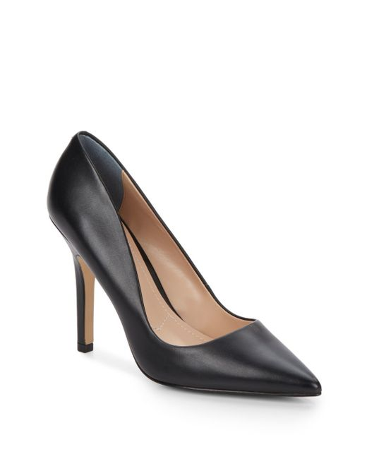Charles by Charles David | Black Sweetness Leather Pumps | Lyst