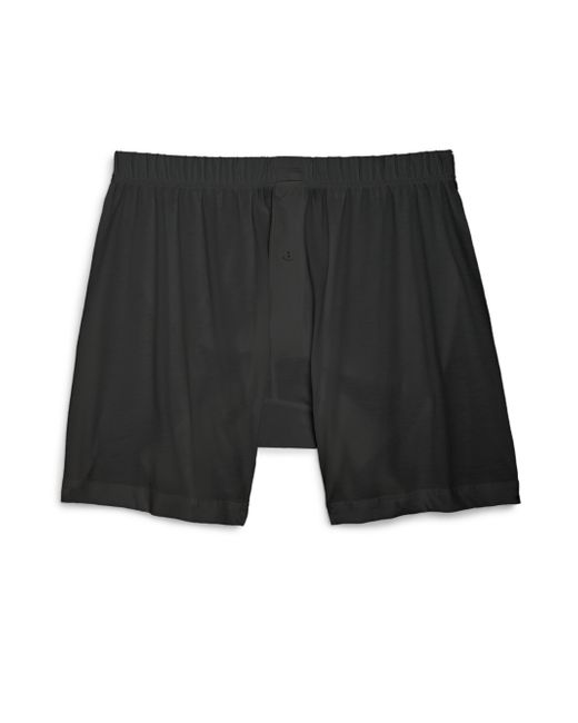 2xist | Black Pima Cotton Boxers for Men | Lyst