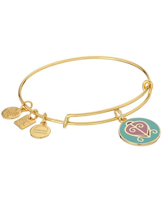 ALEX AND ANI | Metallic Charity By Design - The Way Home Expandable Charm Bangle Bracelet | Lyst