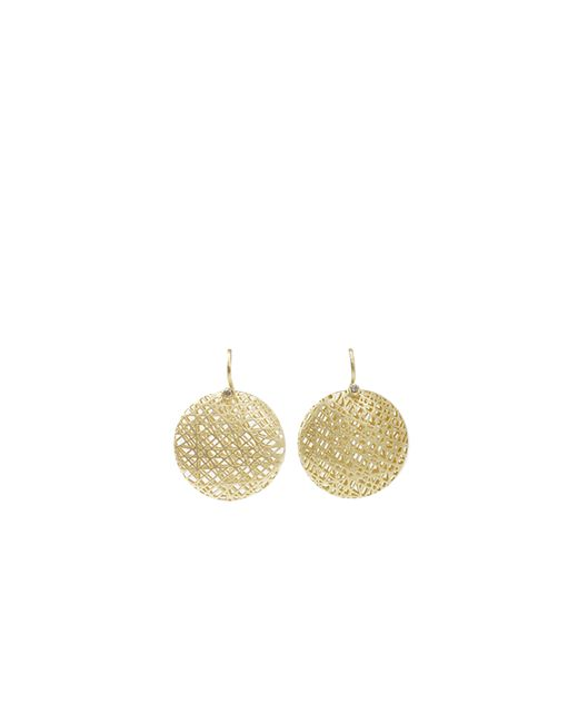 Yossi Harari | Metallic Medium Lace Earrings | Lyst