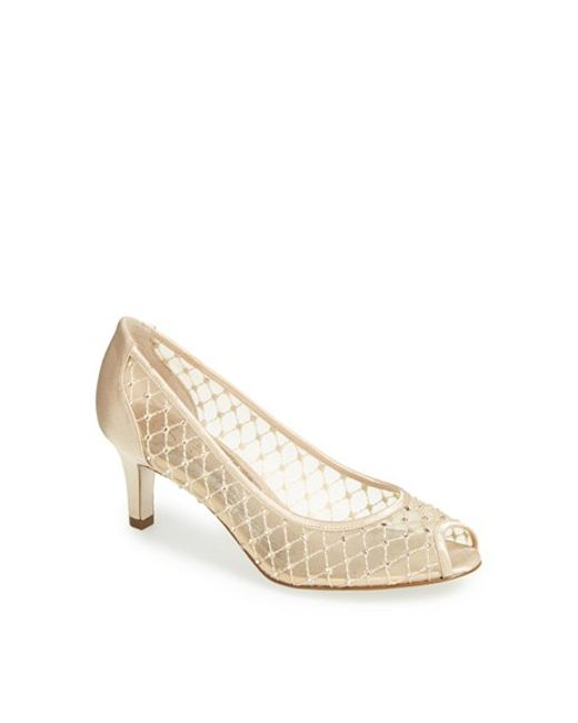 Adrianna Papell | Natural 'jamie' Pump | Lyst