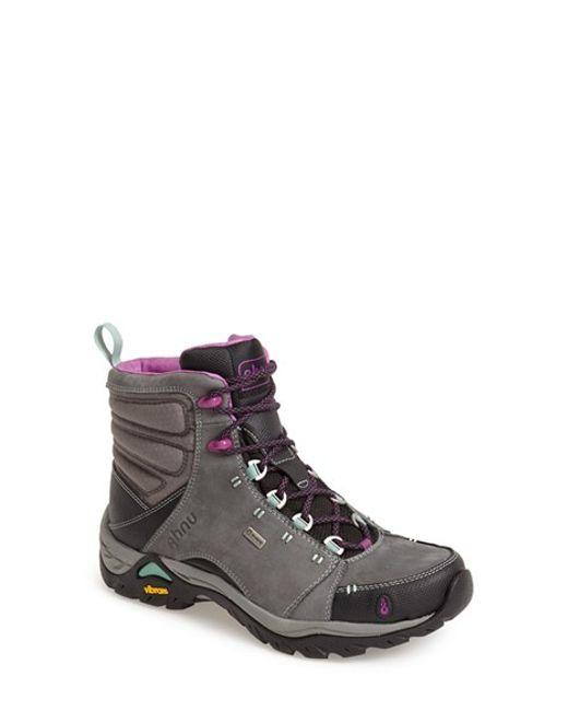 Ahnu | Gray 'montara' Boot | Lyst