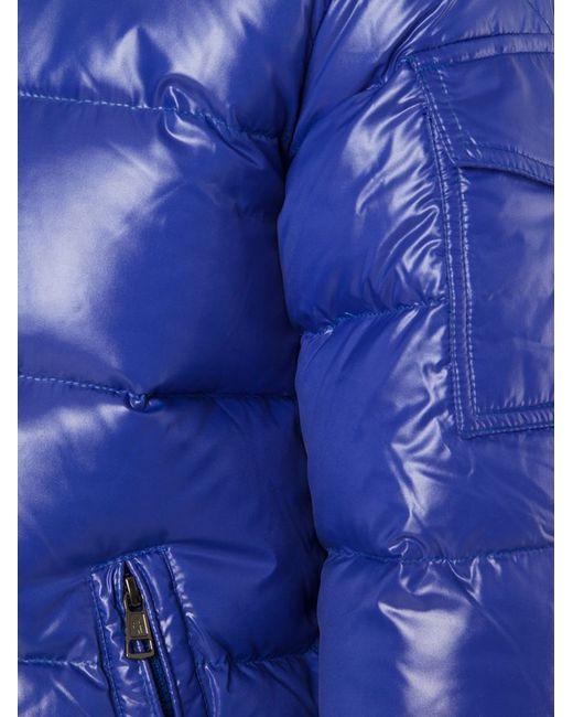 Moncler | Blue 'maya' Padded Jacket for Men | Lyst