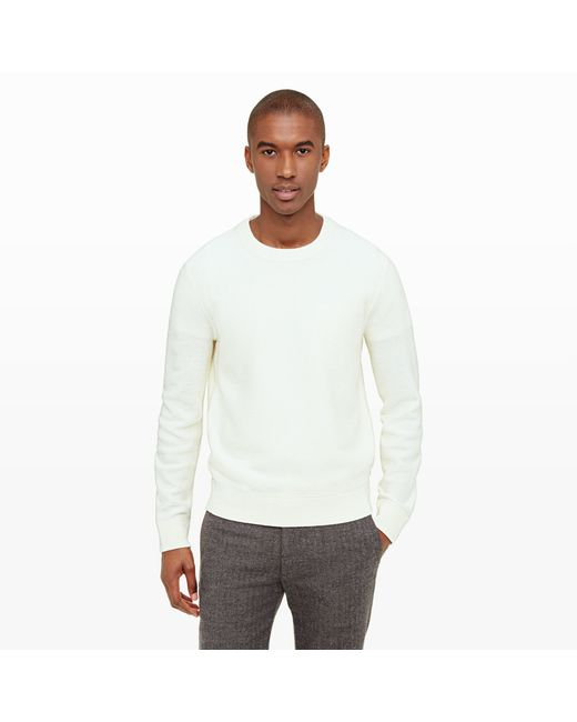 Club Monaco | Natural Merino Twill Sweater for Men | Lyst