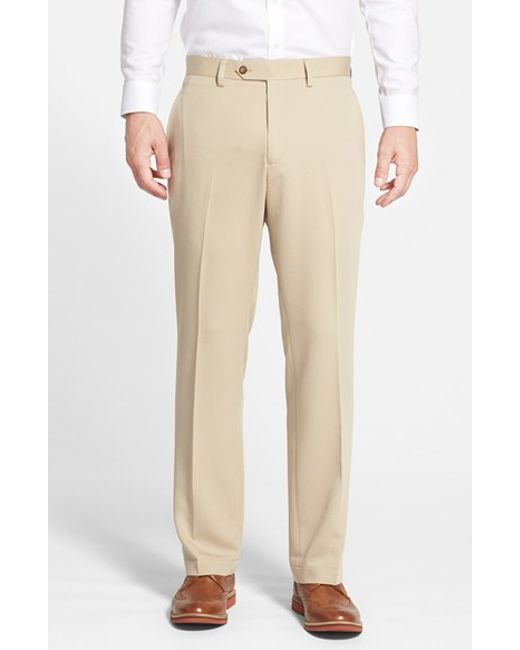 Cutter & Buck | Natural Microfiber Twill Pants for Men | Lyst