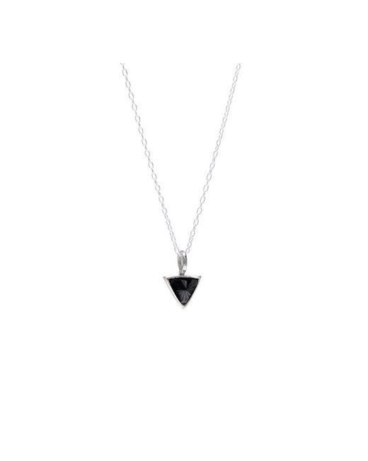 Bing Bang | Metallic Delta Bezel Necklace | Lyst