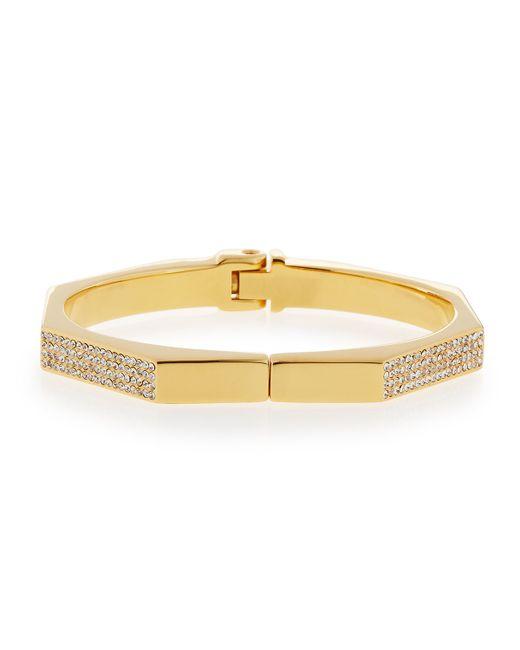 Vita Fede | Metallic Mini Octagon Crystal Bracelet | Lyst